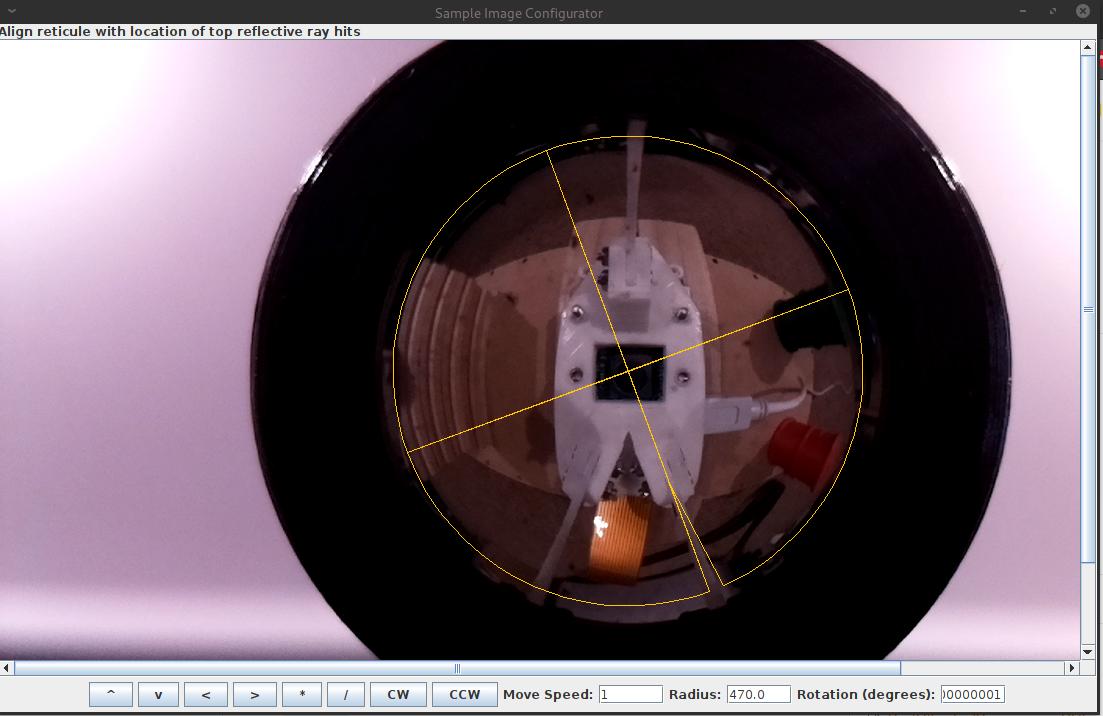 Warped Image Configurator